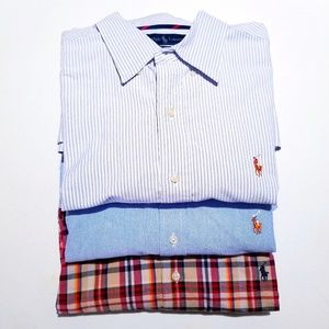 Polo Button Down Bundle (L)